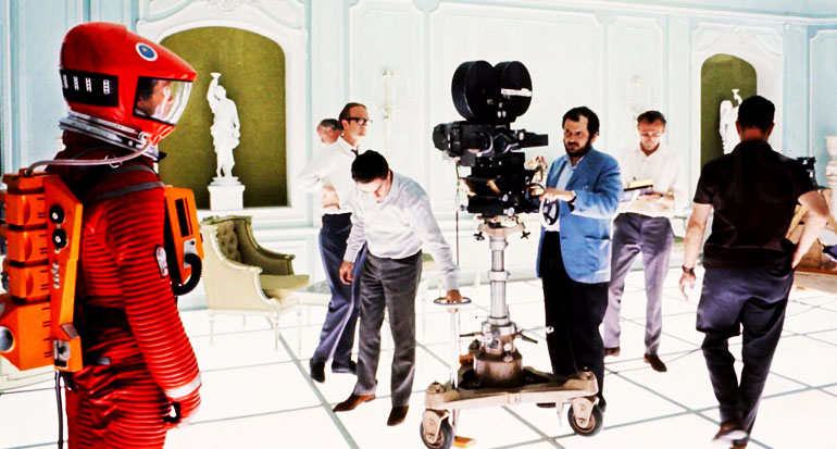 Syuting film 2001: The Space Odyssey